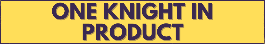 One Knight in Product logo